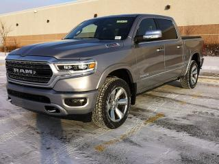 New 2020 RAM 1500 Limited 4x4 Crew Cab / Power Running Boards / Panoramic Sunroof / GPS Navigation for sale in Edmonton, AB