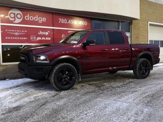 New 2019 RAM 1500 Classic Warlock 4x4 Crew Cab / Back Up Camera for sale in Edmonton, AB