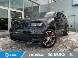 Used 2017 Jeep Grand Cherokee SRT LEATHER SUNROOF NAV 3M FANTASTIC CONDITION for sale in Edmonton, AB