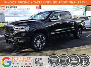 New 2020 RAM 1500 Limited for sale in Richmond, BC
