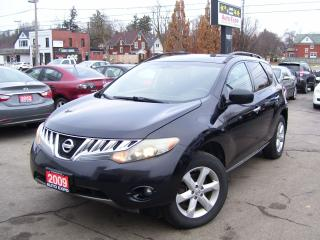 Used 2009 Nissan Murano SL,AWD,AUTO,ALLOYS,CERTIFIED,FOG LIGHTS, for sale in Kitchener, ON