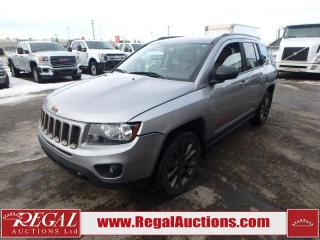 Used 2016 Jeep COMPASS 75TH ANNIVERSARY 4D UTILITY 4WD 2.4L for sale in Calgary, AB