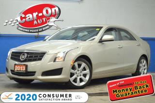 Used 2013 Cadillac ATS 2.0L Turbo AWD LEATHER SUNROOF HTD SEATS LOADED for sale in Ottawa, ON
