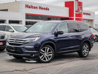 Used 2016 Honda Pilot TOURING|SERVICE HISTORY ON FILE|ACCIDENT FREE for sale in Burlington, ON