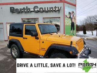 Used 2012 Jeep Wrangler Sport | 4x4 | 3 Piece Hard Top | Automatic | AC | for sale in Mitchell, ON