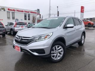 Used 2015 Honda CR-V SE - Smart Key - Rear camera - Heated Seats for sale in Mississauga, ON
