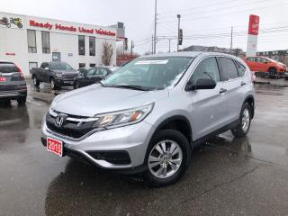 Used 2015 Honda CR-V LX - Bluetooth - Rear Camera - Heated Seats for sale in Mississauga, ON