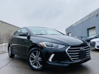 Used 2018 Hyundai Elantra Alloys|Rear view camera|Blind spots|Heated steering & seats! for sale in Brampton, ON