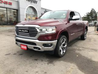 New 2020 RAM 1500 Longhorn Crew 4x4 V8 for sale in Hamilton, ON