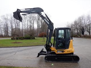 Used 2013 John Deere Excavator 50 G Diesel for sale in Burnaby, BC