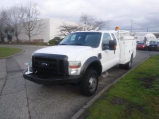 Used 2009 Ford F-350 SD SuperCab Service Truck Dually  4WD Diesel for sale in Burnaby, BC