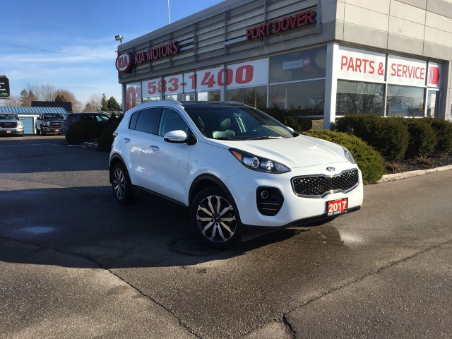 2017 Kia Sportage 2.4L EX Premium AWD Black Leather