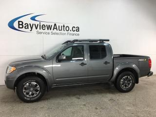 Used 2019 Nissan Frontier PRO-4X - LEATHER! CREW CAB! for sale in Belleville, ON