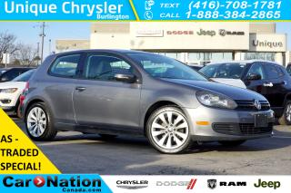 Used 2010 Volkswagen Golf AS-IS SPECIAL| 2.5L| HEATED SEATS| ALLOY WHEELS for sale in Burlington, ON