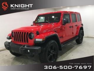 New 2020 Jeep Wrangler Unlimited Sahara Altitude | Navigation | Remote Start for sale in Regina, SK