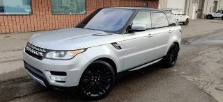 Used 2016 Land Rover Range Rover Sport Td6 HSE | NAVI | CAM | CERTIFIED for sale in Burlington, ON