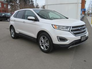 Used 2017 Ford Edge 4dr Titanium AWD - Lthr/Pwr-Htd-Cld Front Seats/Pwr-Htd Rear Seat/Rem Start/Pwr Panoramic Roof/Nav/Rev Camera/Bluetooth for sale in Hagersville, ON