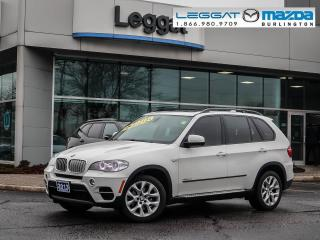 Used 2013 BMW X5 xDrive35d - LEATHER, GPS, AWD, REAR CAMERA, FOG LIGHTS for sale in Burlington, ON