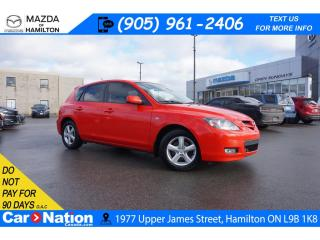 Used 2008 Mazda MAZDA3 GX | 5 SPEED | ALLOYS | LOW KMS | A/C for sale in Hamilton, ON