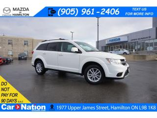 Used 2015 Dodge Journey SXT | ALLOYS | 7 PASSENGER | DUAL CLIMATE | for sale in Hamilton, ON