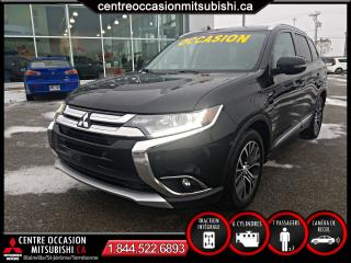 Used 2016 Mitsubishi Outlander SE TOURING AWC, TOÎT OUVR., AIR, 7 PASSA for sale in St-Jérôme, QC