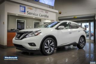 Used 2017 Nissan Murano AWD 4DR PLATINUM for sale in Sherbrooke, QC