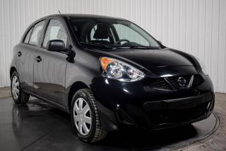 Used 2017 Nissan Micra S Hatch for sale in St-Hubert, QC