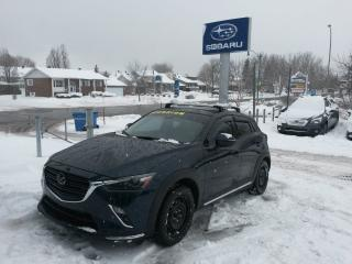 Used 2019 Mazda CX-3 GT AWD TOIT OUVRANT CUIR COMME NEUF À VOIR for sale in Repentigny, QC