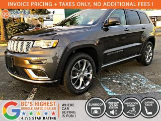 New 2020 Jeep Grand Cherokee Summit for sale in Richmond, BC