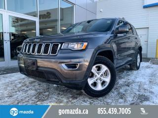 Used 2017 Jeep Grand Cherokee LAREDO 4X4 POWER OPTIONS DUAL CLIMATE for sale in Edmonton, AB