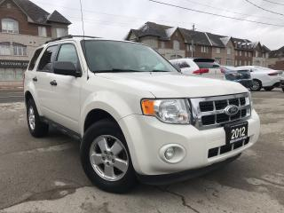 Used 2012 Ford Escape XLT|4WD|Accident free|Alloy wheels|Bluetooth for sale in Burlington, ON