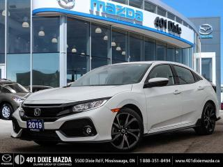 Used 2019 Honda Civic Hatchback Sport |SUNROOF|HEATED SEATS|LANE KEEP ASSIST for sale in Mississauga, ON