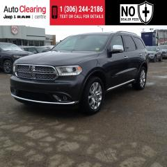 Used 2018 Dodge Durango CITADEL AWD/NAV HEATED SEATS for sale in Saskatoon, SK