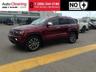 Used 2018 Jeep G Cherokee Limited 3.6 LIMITED for sale in Saskatoon, SK