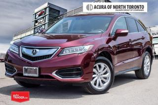 Used 2017 Acura RDX Tech at No Accident| Remote Start|| Navigation for sale in Thornhill, ON