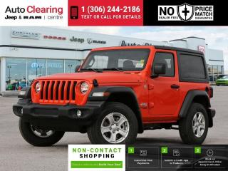 New 2020 Jeep Wrangler Sport S for sale in Saskatoon, SK