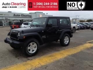 Used 2018 Jeep Wrangler Sport Automatic for sale in Saskatoon, SK