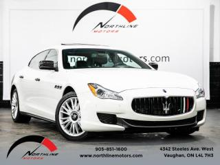 Used 2014 Maserati Quattroporte S Q4|Navigation|Camera|Heated Cooled Leather|Sunroof for sale in Vaughan, ON
