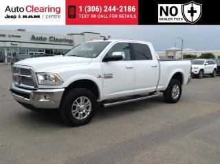 Used 2018 RAM 3500 C/CAB 4X4 6.7 LARAMIE/CUMMINS DIESEL for sale in Saskatoon, SK