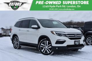 Used 2017 Honda Pilot Touring - One Owner, Roof Rack, GPS for sale in London, ON
