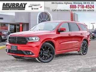 Used 2017 Dodge Durango GT *AWD   Leather   DVD   Sunroof* for sale in Winnipeg, MB