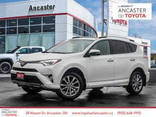 Used 2017 Toyota RAV4 LIMITED - NAVI|SUNROOF|BLUETOOTH|CAMERA for sale in Ancaster, ON