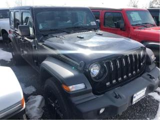 New 2020 Jeep Wrangler Unlimited Sport Altitude for sale in Concord, ON