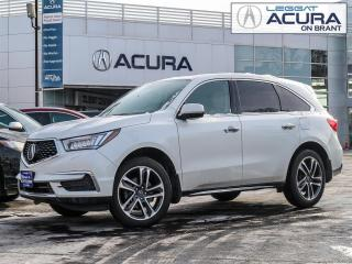 Used 2017 Acura MDX Technology Package TECH | 1OWNER | NOACCIDENTS | REMOTESTART | AWD | for sale in Burlington, ON