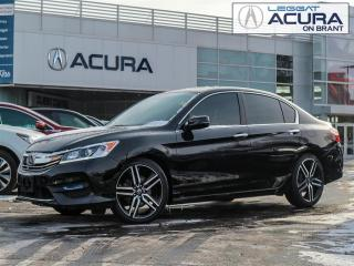 Used 2017 Honda Accord Sport SPORT | 1OWNER | NOACCIDENTS | TINT | CLOTH | FWD for sale in Burlington, ON