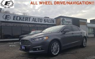 Used 2014 Ford Fusion SE ALL WHEEL DRIVE WITH NAVIGATION!! for sale in Barrie, ON