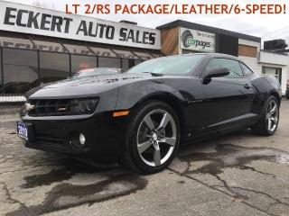 Used 2010 Chevrolet Camaro 2LT/RS PKG/LEATHER/6-SPEED MANUAL!! for sale in Barrie, ON