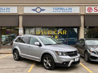 Used 2015 Dodge Journey Crossroad, 7 Pass, Leather, Roof for sale in Vaughan, ON