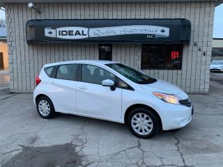 Used 2016 Nissan Versa Note S for sale in Mount Brydges, ON