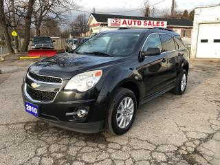 Used 2010 Chevrolet Equinox Comes Certified/Automatic/4 Cylinder for sale in Scarborough, ON